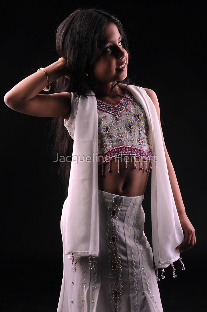Little bollywood girl by Jacqueline Herbert