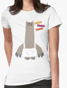 Rad on Time Schnitzel Womens Fitted T-Shirt
