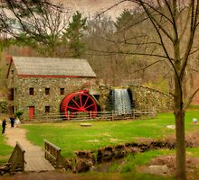 Wayside Grist Mill 2012 by Monica M. Scanlan