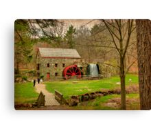 Wayside Grist Mill 2012 Canvas Print