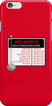 Red Shirt's Death Forecasting Stone by sirwatson