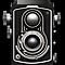 Vintage Twin Lens Reflex (TLR) camera by Steve Crompton