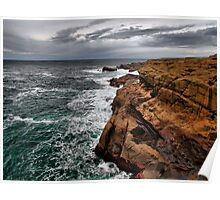 Looking North ~ Boiler Bay ~ Poster