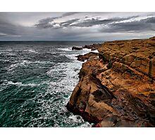 Looking North ~ Boiler Bay ~ Photographic Print