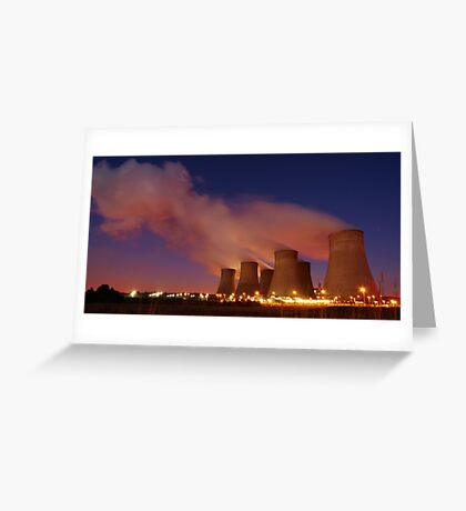 Power Of The Night Greeting Card