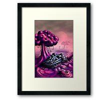 Squashi Land Framed Print