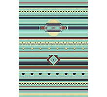 Aztec Pattern Photographic Print
