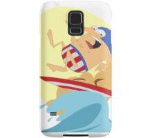Surfing Captain Samsung Galaxy Case/Skin