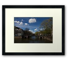 The Brouwersgracht Framed Print