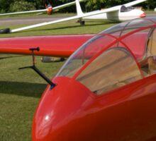 Vintage glider/sailplane. Sticker