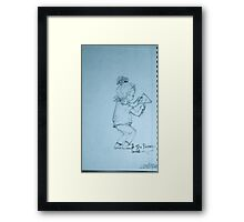 'The Percussionist' Framed Print
