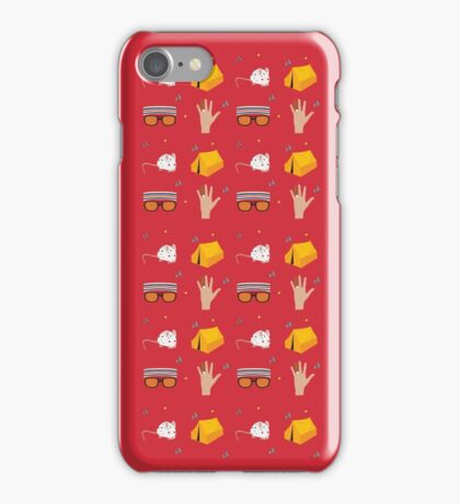 Tenenbaum Pattern iPhone Case/Skin