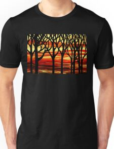 Abstract Forest Indian Summer Unisex T-Shirt