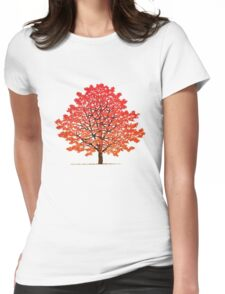 Maple tree 2 Womens Fitted T-Shirt