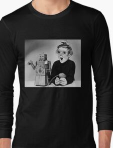 Space Age Kid Long Sleeve T-Shirt