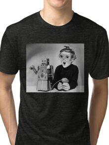 Space Age Kid Tri-blend T-Shirt