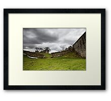 Pendragon Castle Framed Print