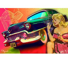 Lusty DeVille   Photographic Print