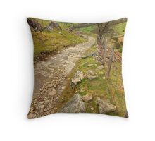 Track Up Penhill Throw Pillow