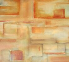 abstract burnt sienna by zooberhood