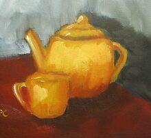 Teapot by zooberhood