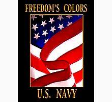 FREEDOM'S COLORS NAVY Unisex T-Shirt