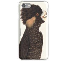 Yellow-tailed Black Cockatoo iPhone Case/Skin