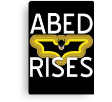 Abed Rises Canvas Print