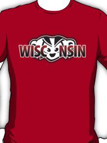 Mad Badger Wisconsin Peek-a-boo T-Shirt