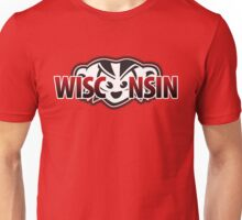 Mad Badger Wisconsin Peek-a-boo Unisex T-Shirt