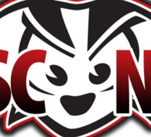 Mad Badger Wisconsin Peek-a-boo Sticker