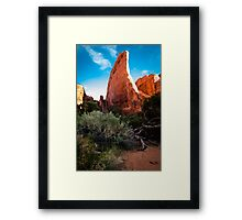 Rock Ship Framed Print