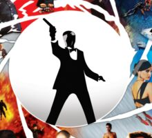The Incredible World Of 007 Sticker