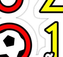 España Euro 2012 Champions! 3 Sticker