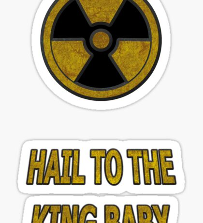 Duke Nukem - Hail To The King Baby! Sticker