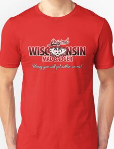 Mad Badger Wisconsin Original T-Shirt