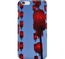 Hanging Lanterns iPhone Case/Skin