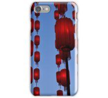 Hanging Lanterns iPhone Case/Skin