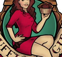 Souffle Girl Sticker
