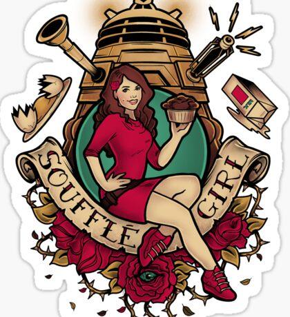 Souffle Girl Sticker