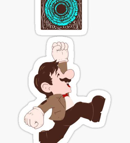 Mario Who? Sticker