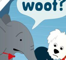 Puppy-Sized Elephant Sticker