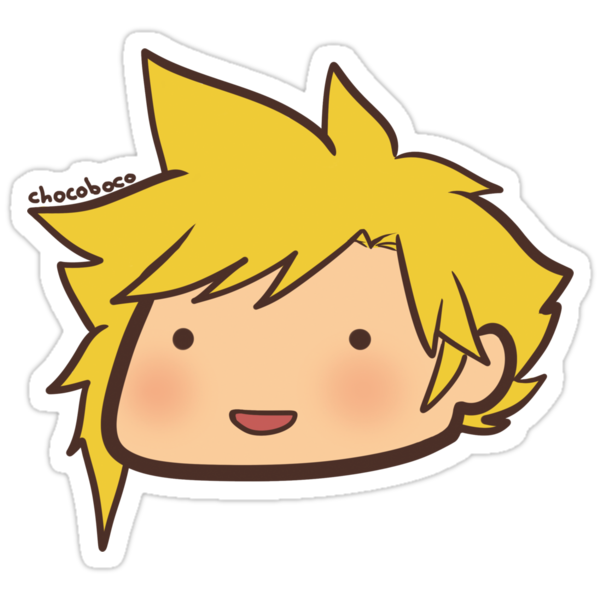 Chibi Cloud by chocoboco