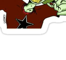 Zombie Gotta Rock Sticker