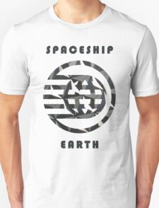 Spaceship Earth Pattern  T-Shirt