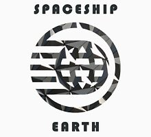 Spaceship Earth Pattern  Unisex T-Shirt