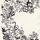 Fairytale Swirls and Florals by Kashmere1646