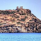 Sanctuary of Sounion by Tom Gomez
