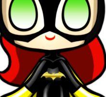 Batgirl Plush Sticker