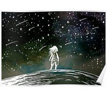 Meteor Shower Poster
